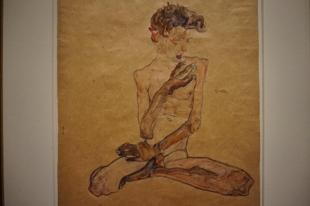 Vue de l'exposition Egon Schiele - Fondation Louis Vuitton (45)