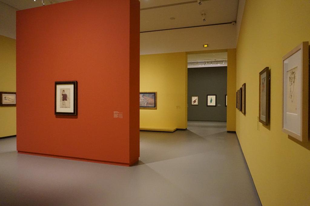 Vue de l'exposition Egon Schiele - Fondation Louis Vuitton (46)