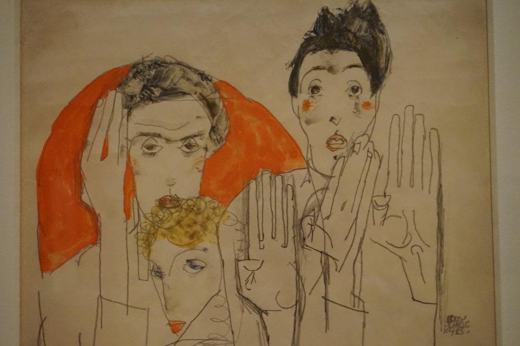 Vue de l'exposition Egon Schiele - Fondation Louis Vuitton (47)
