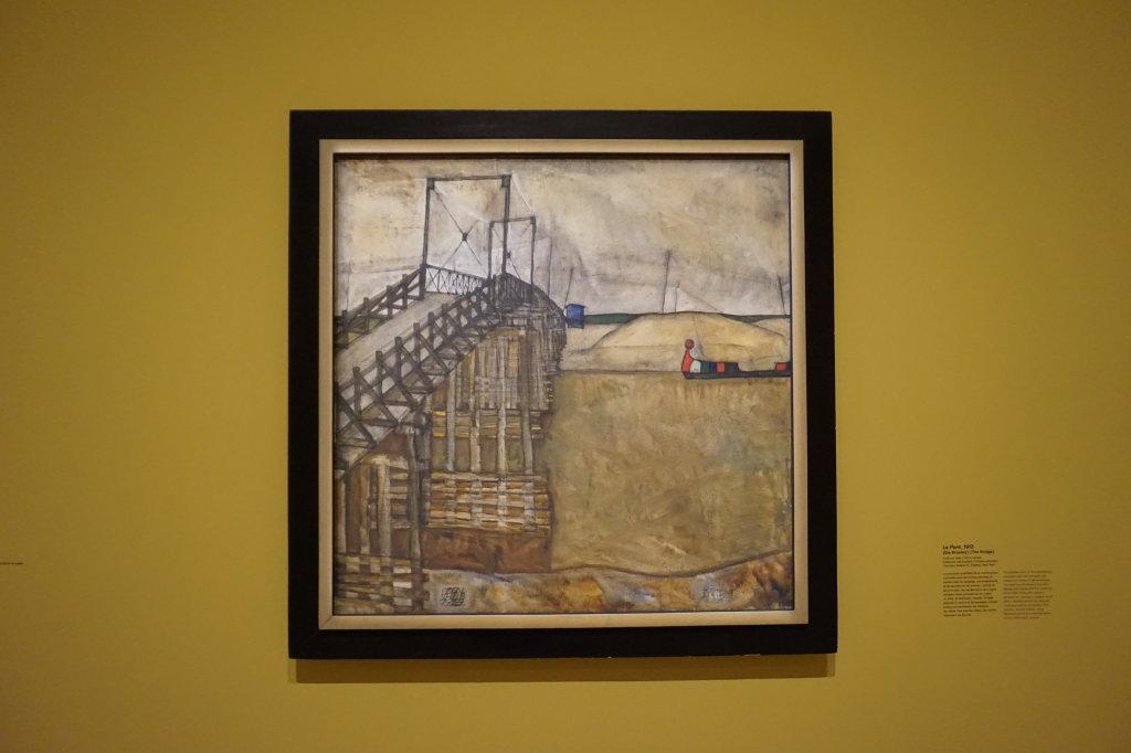 Vue de l'exposition Egon Schiele - Fondation Louis Vuitton (48)
