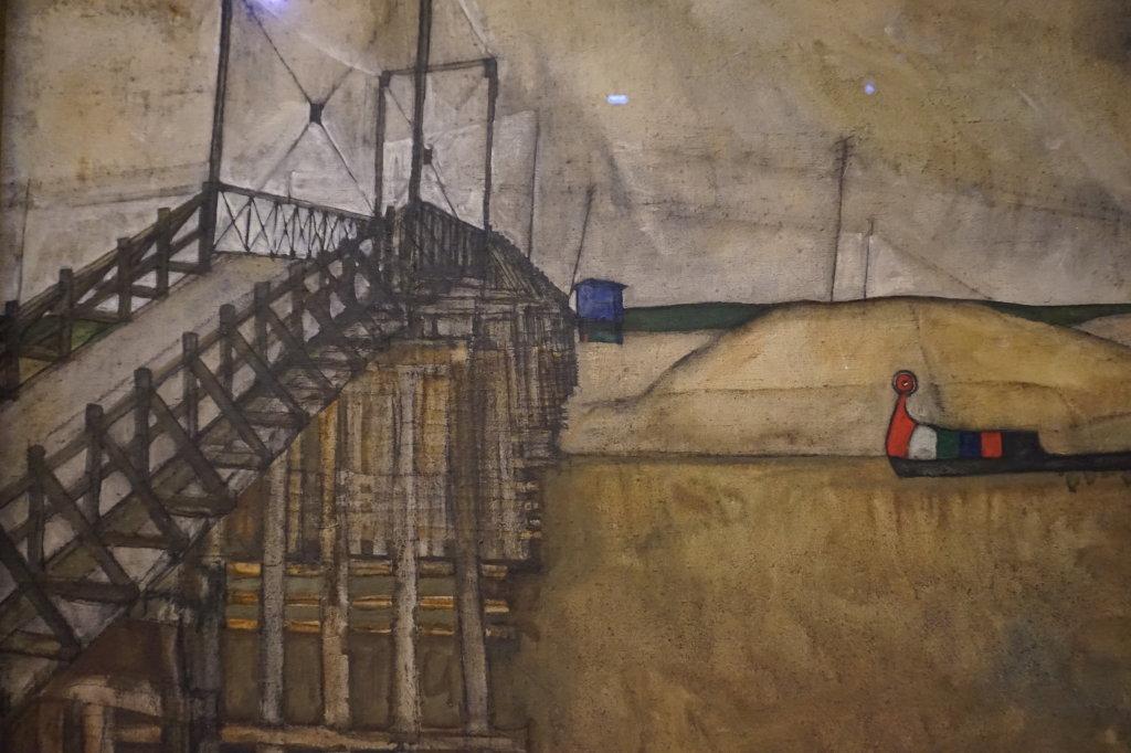 Vue de l'exposition Egon Schiele - Fondation Louis Vuitton (49)