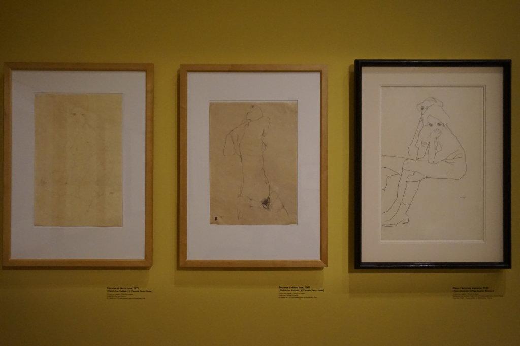 Vue de l'exposition Egon Schiele - Fondation Louis Vuitton (5)