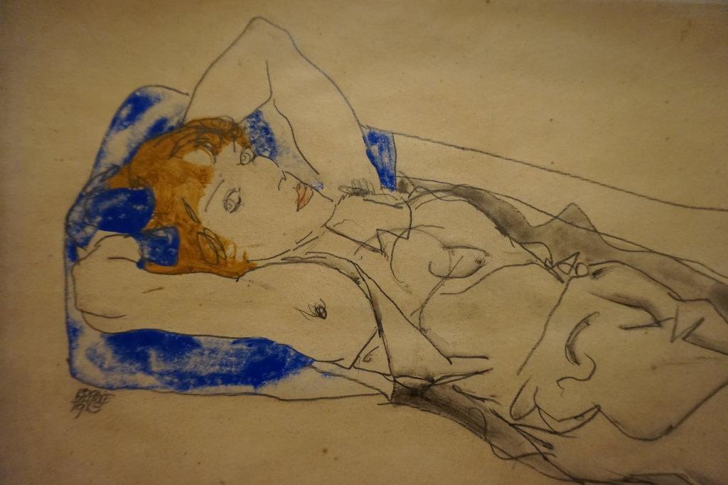 Vue de l'exposition Egon Schiele - Fondation Louis Vuitton (51)
