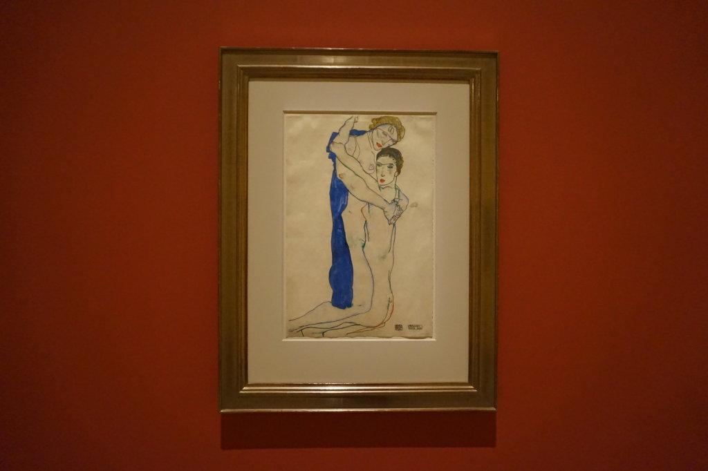 Vue de l'exposition Egon Schiele - Fondation Louis Vuitton (52)
