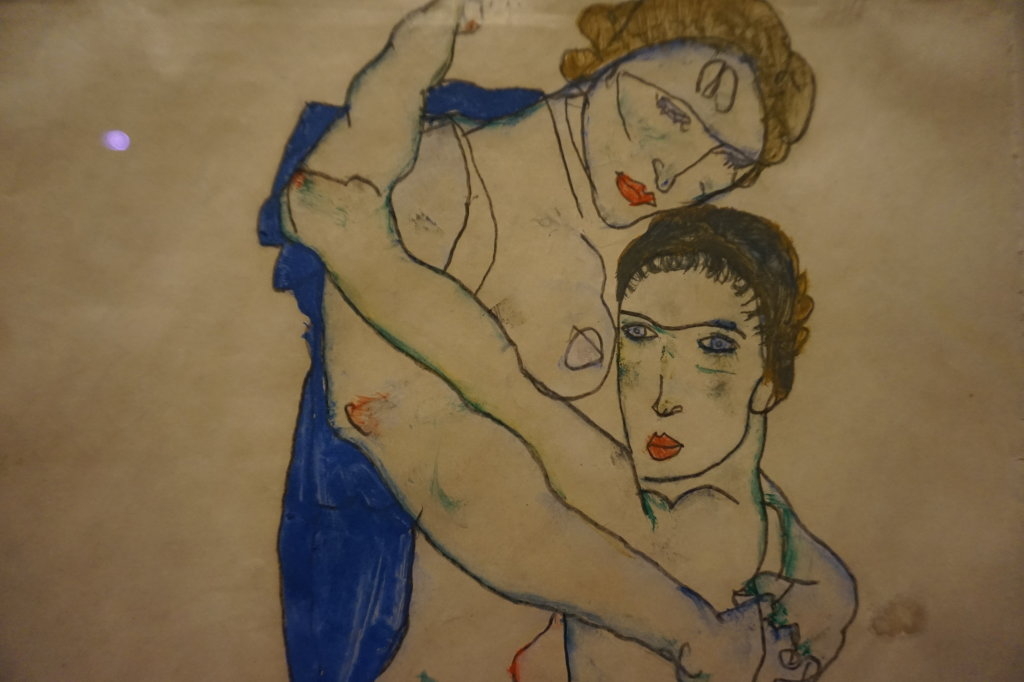 Vue de l'exposition Egon Schiele - Fondation Louis Vuitton (53)