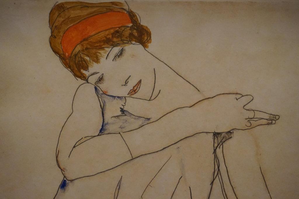 Vue de l'exposition Egon Schiele - Fondation Louis Vuitton (54)