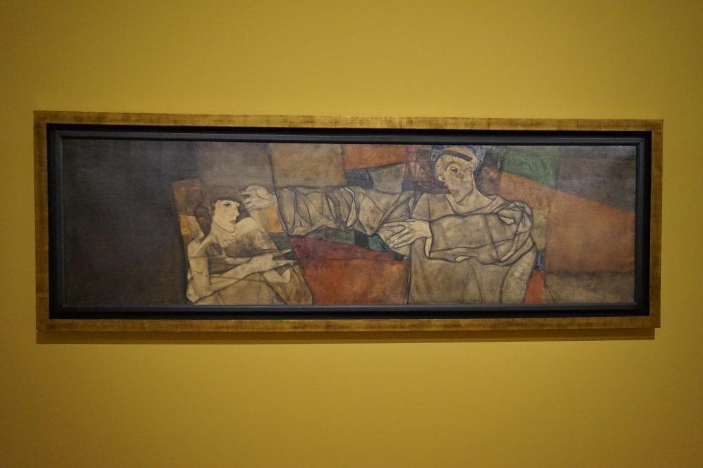 Vue de l'exposition Egon Schiele - Fondation Louis Vuitton (55)