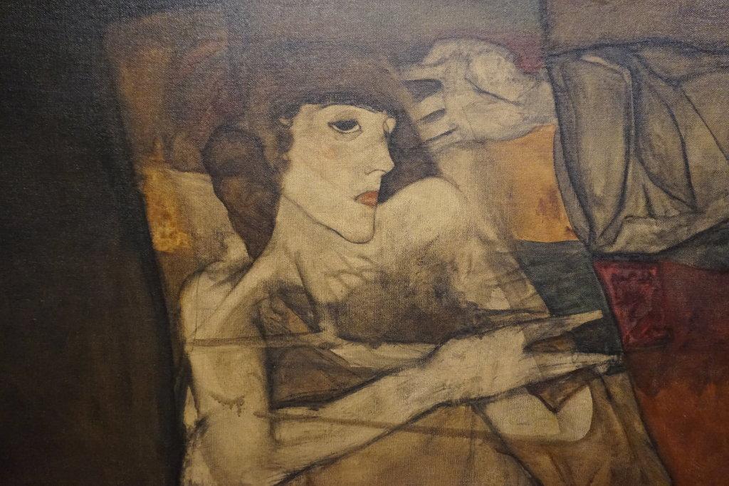 Vue de l'exposition Egon Schiele - Fondation Louis Vuitton (56)