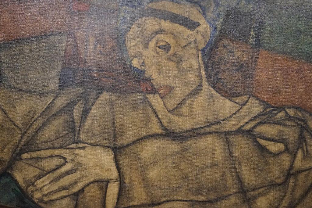Vue de l'exposition Egon Schiele - Fondation Louis Vuitton (57)