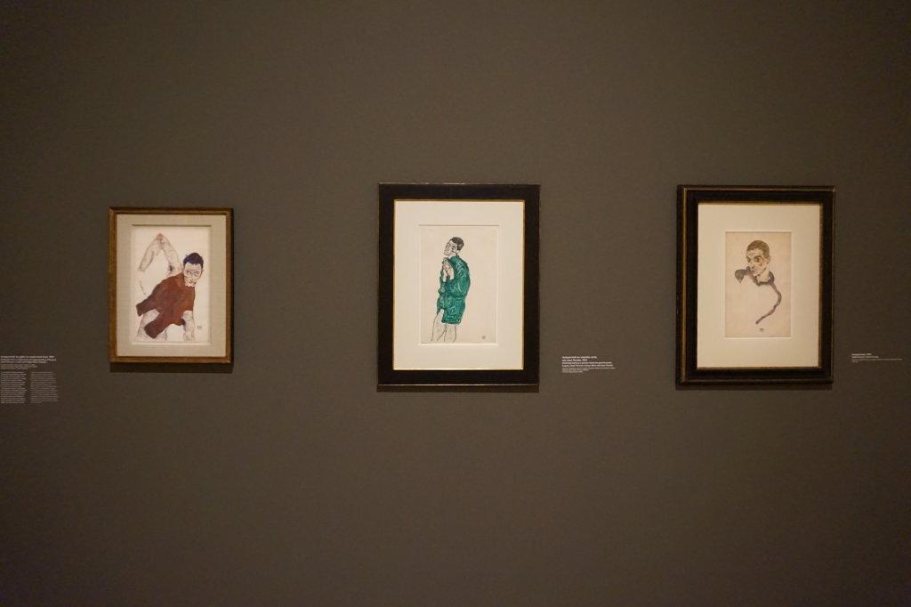 Vue de l'exposition Egon Schiele - Fondation Louis Vuitton (58)