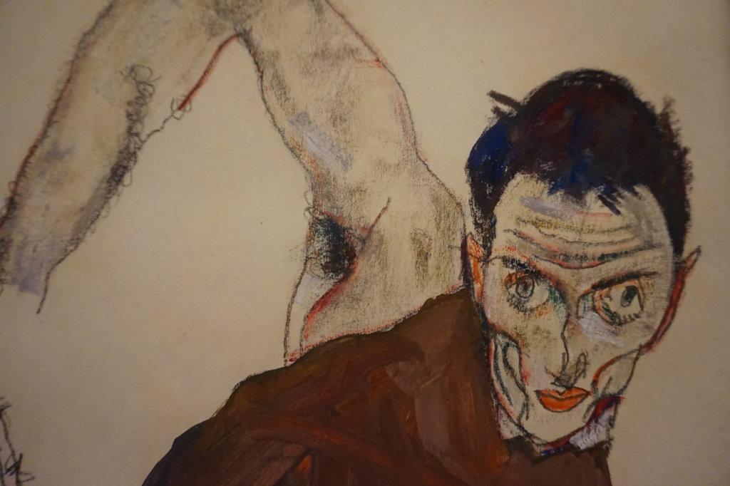 Vue de l'exposition Egon Schiele - Fondation Louis Vuitton (59)