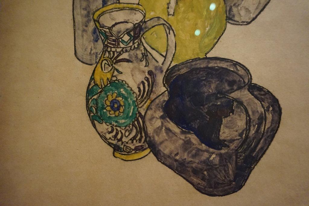 Vue de l'exposition Egon Schiele - Fondation Louis Vuitton (61)