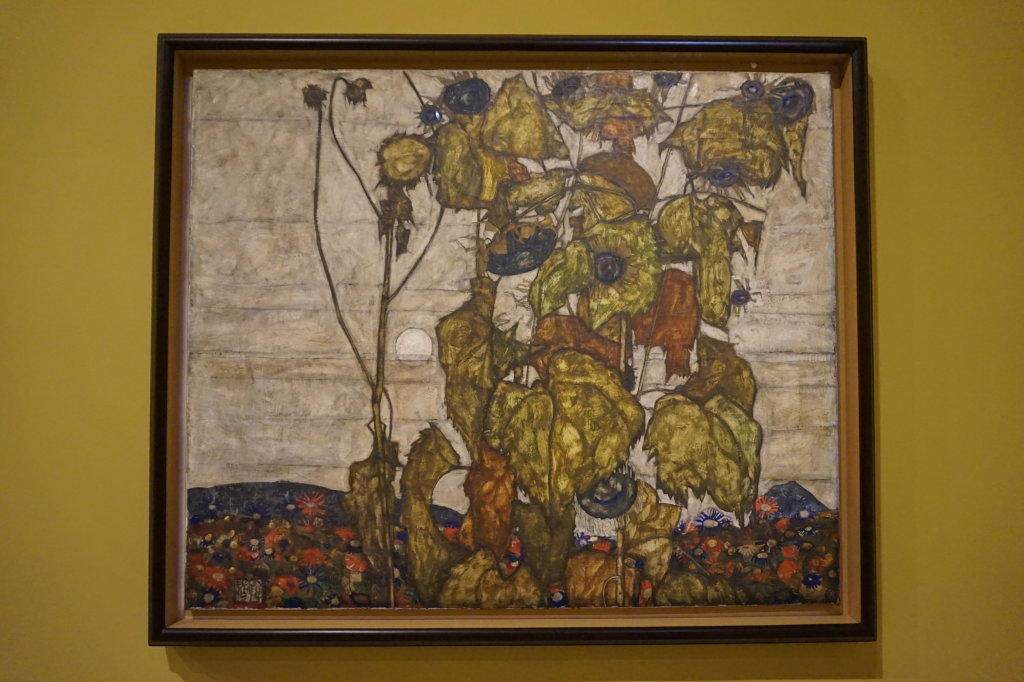 Vue de l'exposition Egon Schiele - Fondation Louis Vuitton (62)