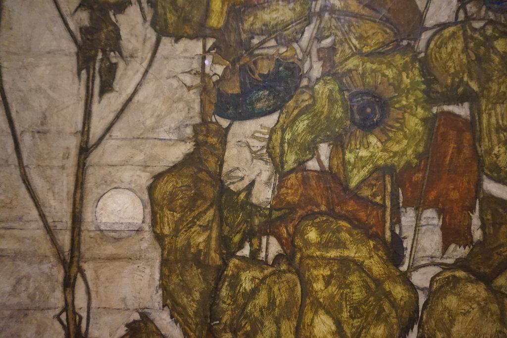 Vue de l'exposition Egon Schiele - Fondation Louis Vuitton (63)