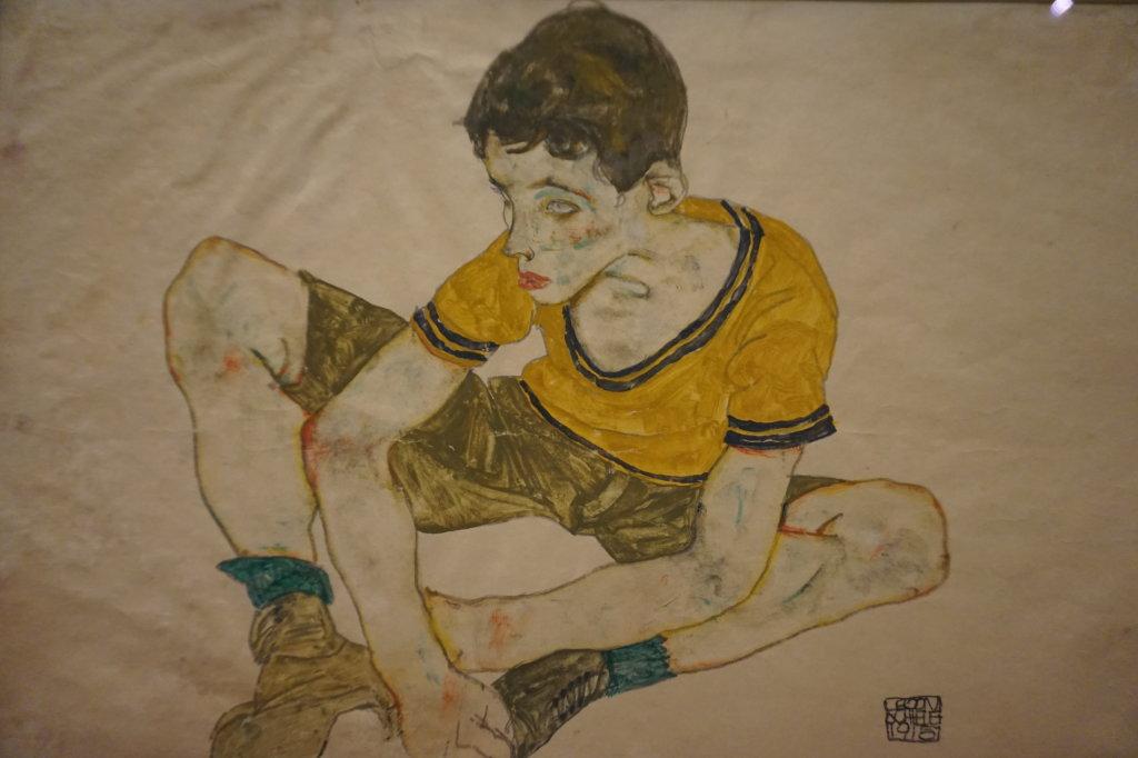 Vue de l'exposition Egon Schiele - Fondation Louis Vuitton (64)
