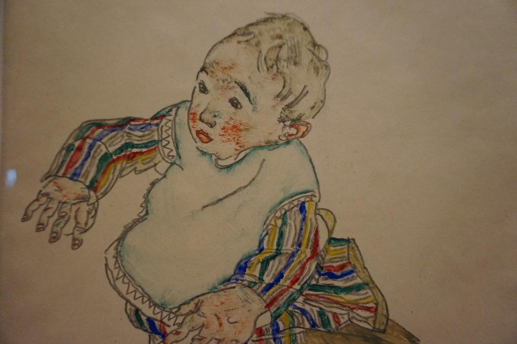 Vue de l'exposition Egon Schiele - Fondation Louis Vuitton (65)