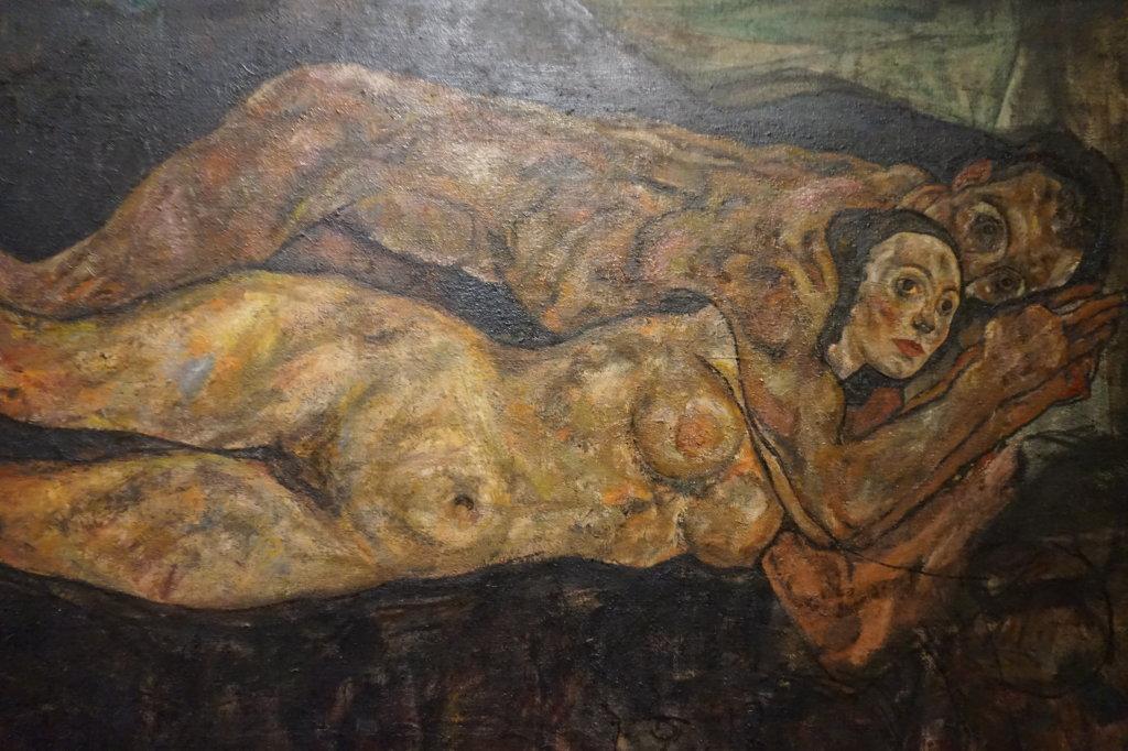 Vue de l'exposition Egon Schiele - Fondation Louis Vuitton (66)