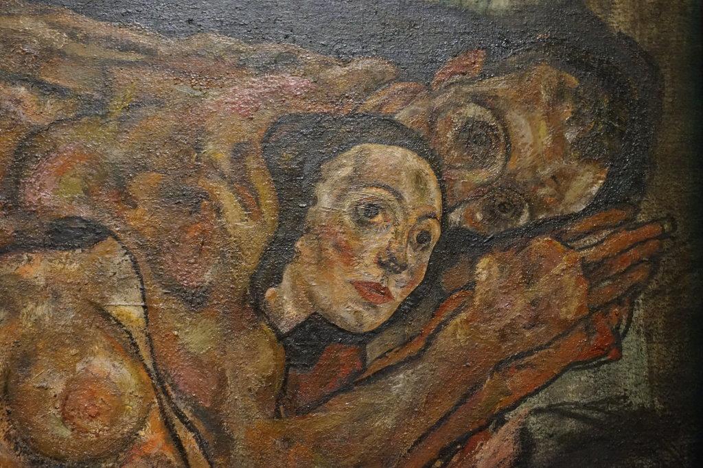 Vue de l'exposition Egon Schiele - Fondation Louis Vuitton (67)
