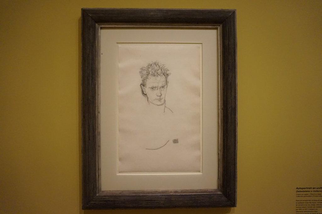 Vue de l'exposition Egon Schiele - Fondation Louis Vuitton (69)
