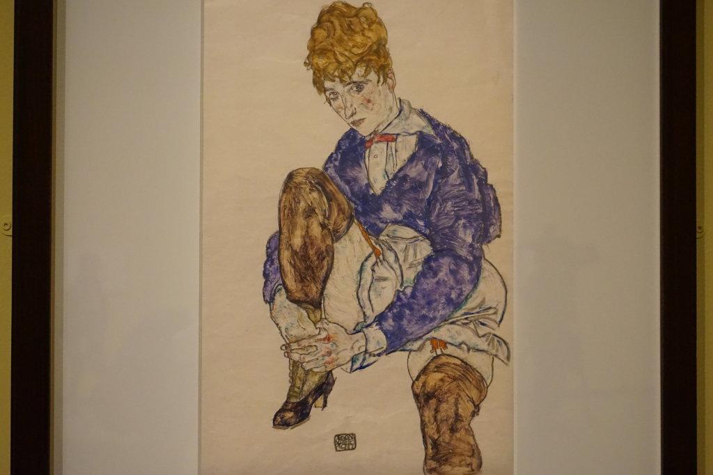 Vue de l'exposition Egon Schiele - Fondation Louis Vuitton (72)
