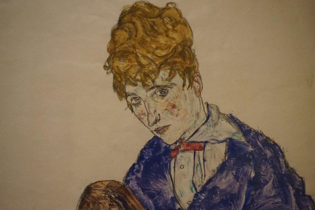 Vue de l'exposition Egon Schiele - Fondation Louis Vuitton (73)