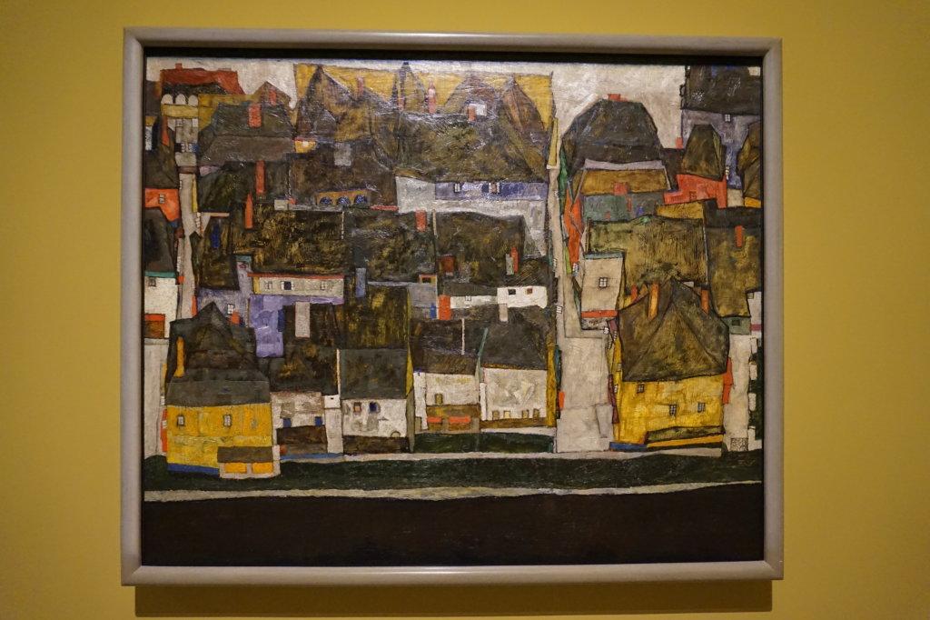 Vue de l'exposition Egon Schiele - Fondation Louis Vuitton (76)