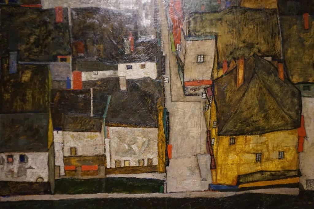 Vue de l'exposition Egon Schiele - Fondation Louis Vuitton (77)