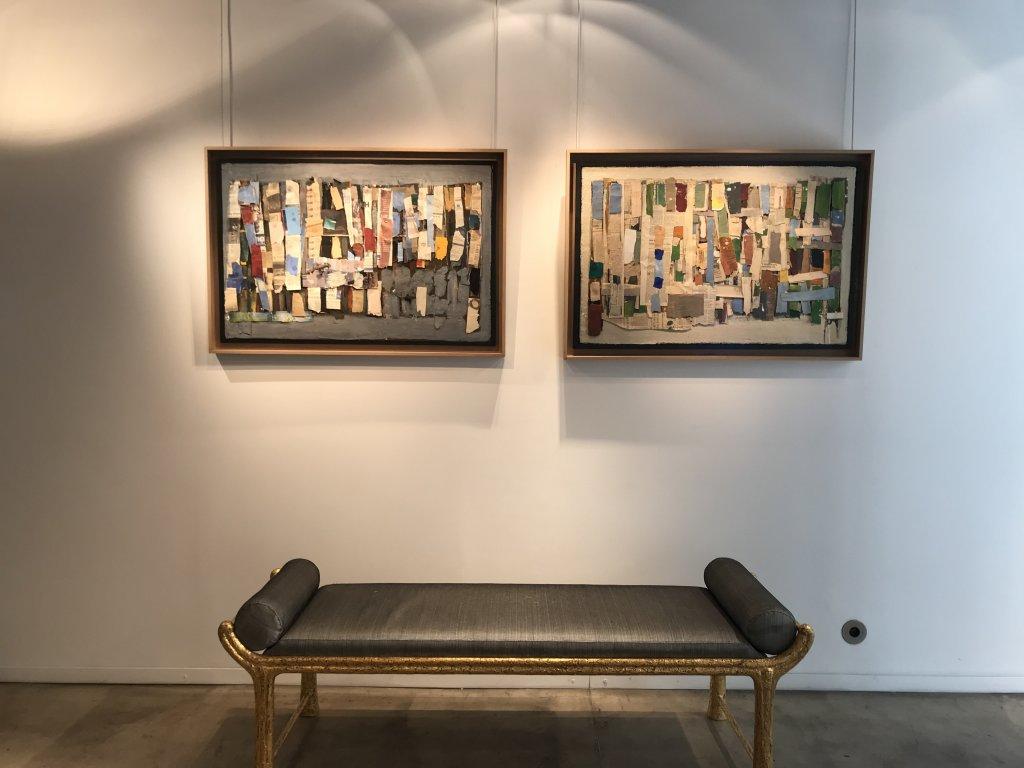 Vue de l'exposition Jean-Michel Coulon - Galerie Dutko Bonaparte (1)