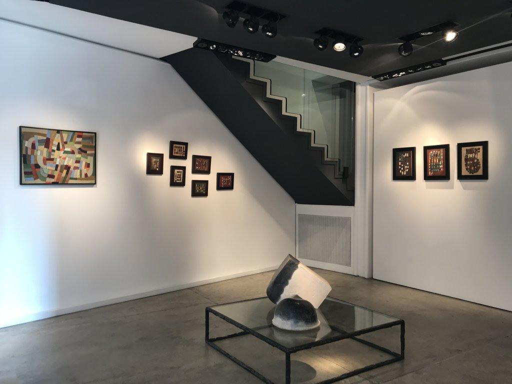 Vue de l'exposition Jean-Michel Coulon - Galerie Dutko Bonaparte (14)