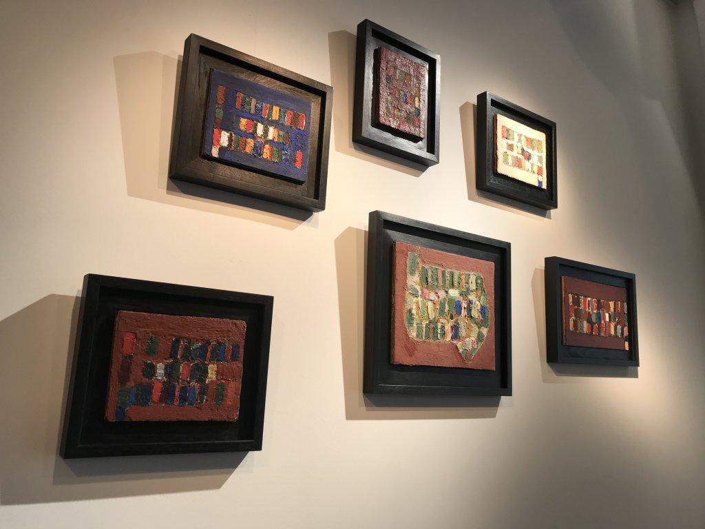 Vue de l'exposition Jean-Michel Coulon - Galerie Dutko Bonaparte (17)