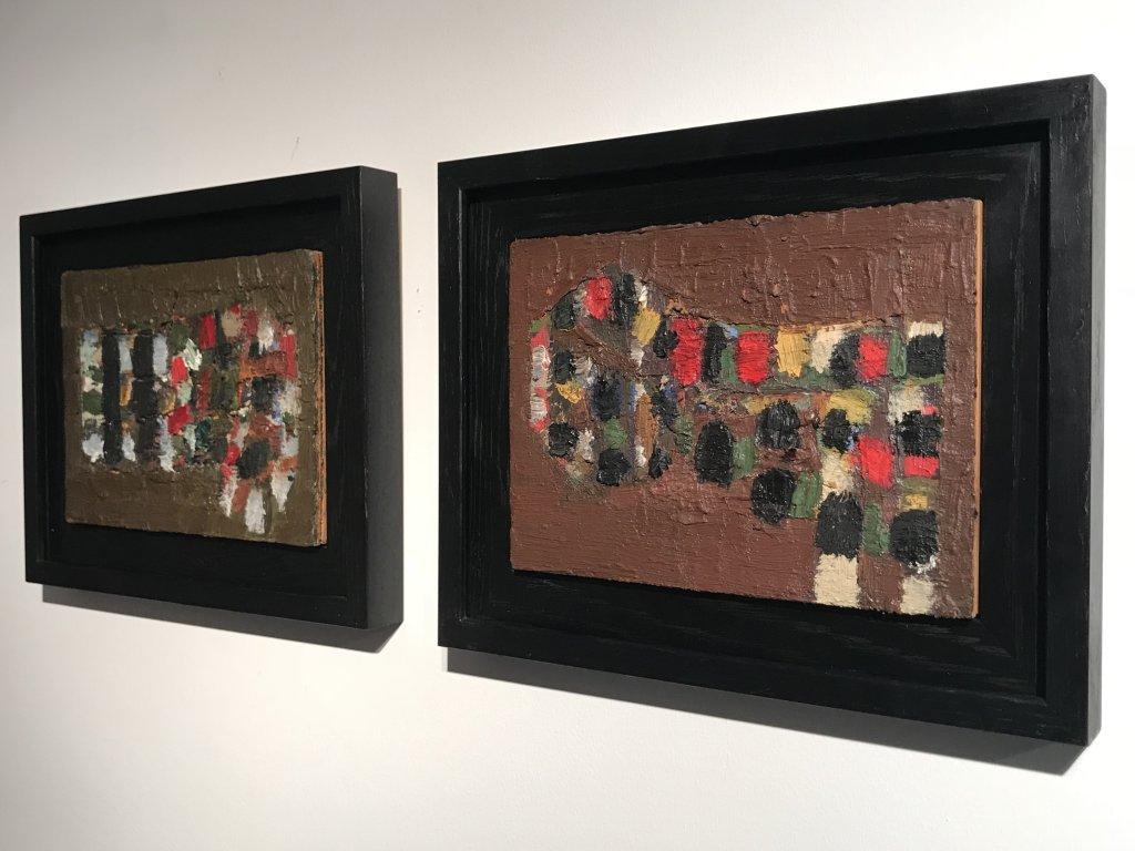 Vue de l'exposition Jean-Michel Coulon - Galerie Dutko Bonaparte (34)