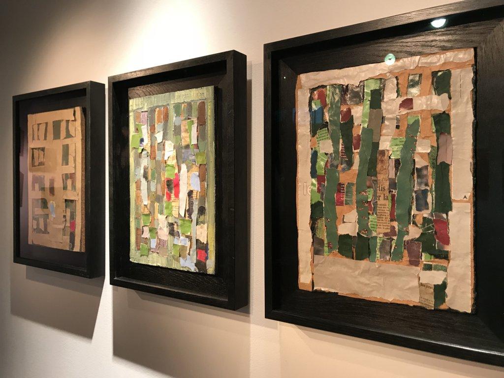 Vue de l'exposition Jean-Michel Coulon - Galerie Dutko Bonaparte (39)