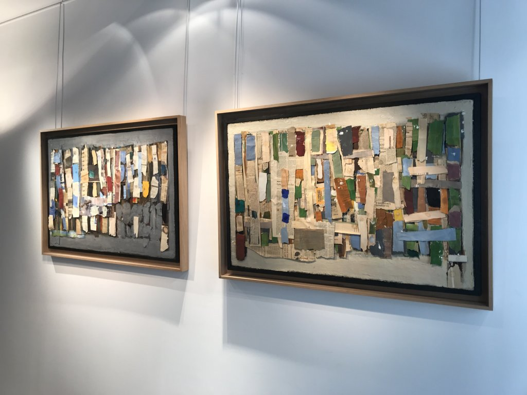 Vue de l'exposition Jean-Michel Coulon - Galerie Dutko Bonaparte (5)