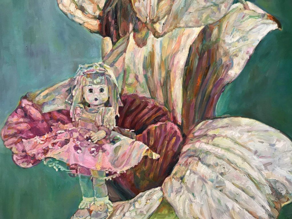 Vue de l'exposition Neda Arizanović - Galerie Boris