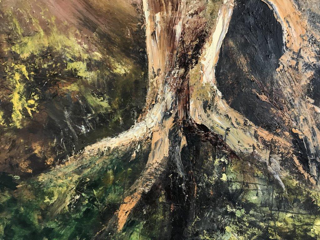 Vue de l'exposition Pierre-Luc Bartoli, Paysages - Galerie Gare de Marlon