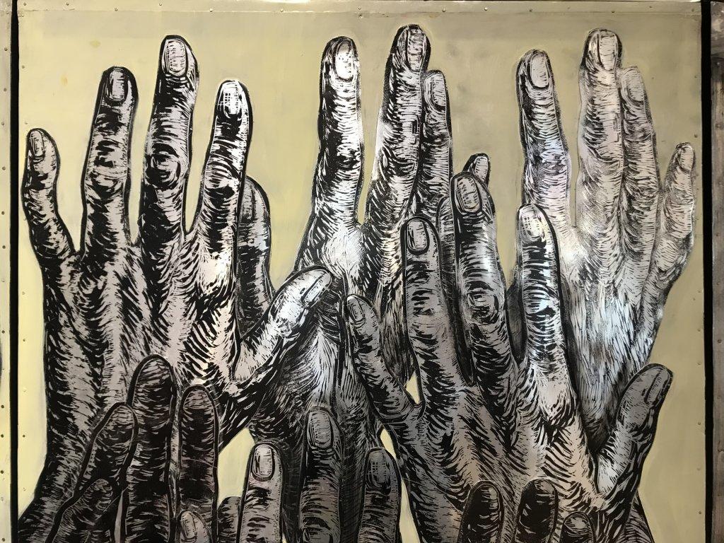 Vue de l'exposition Tijana Kojic, Syllogismes - Galerie Boris (10)
