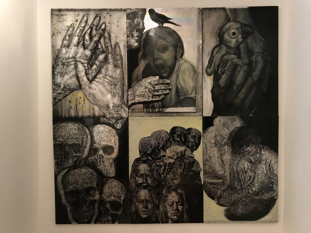 Vue de l'exposition Tijana Kojic, Syllogismes - Galerie Boris (11)