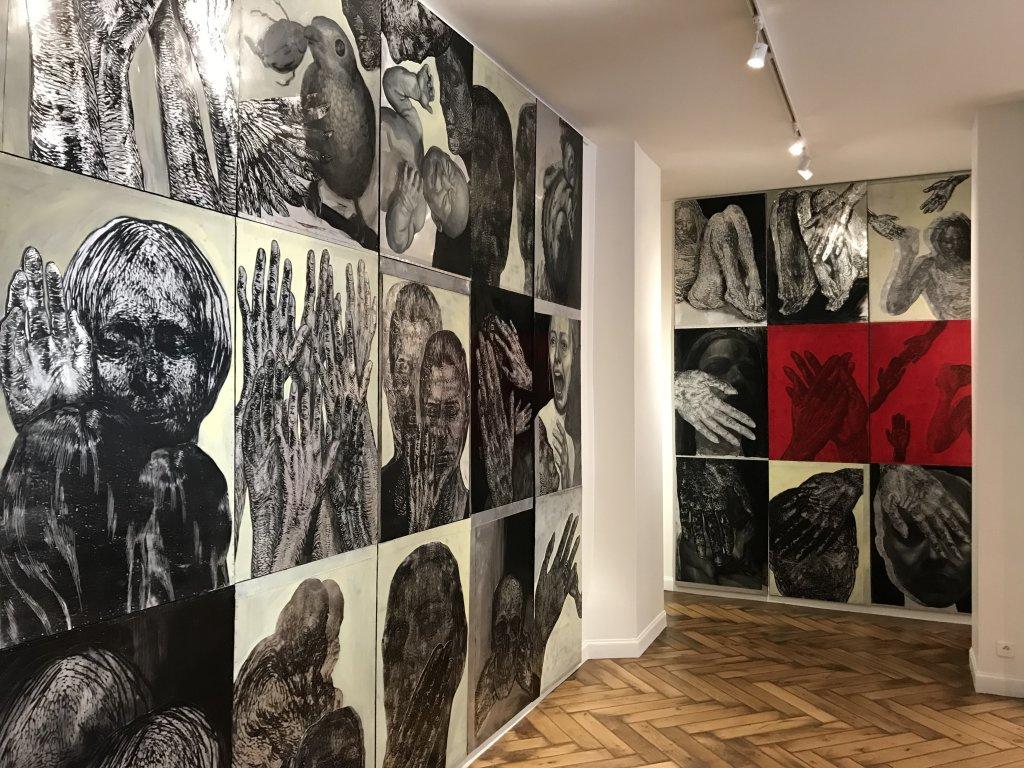 Vue de l'exposition Tijana Kojic, Syllogismes - Galerie Boris (14)