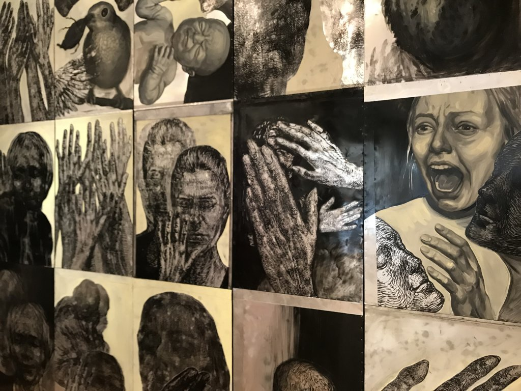Vue de l'exposition Tijana Kojic, Syllogismes - Galerie Boris (15)