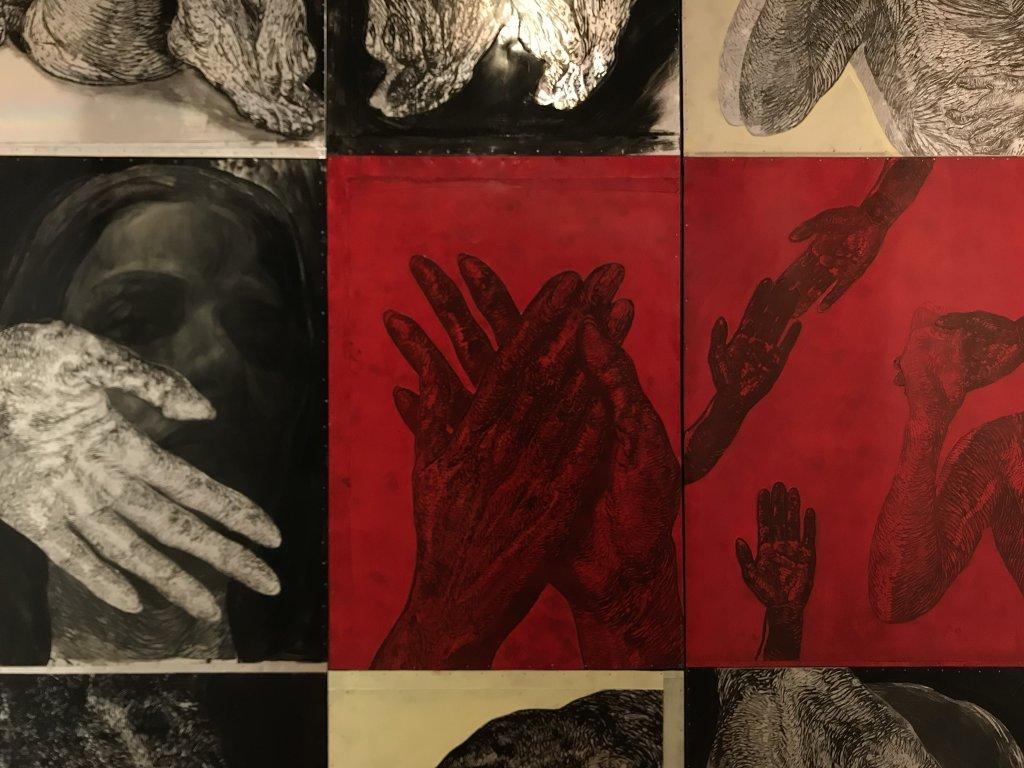 Vue de l'exposition Tijana Kojic, Syllogismes - Galerie Boris (16)