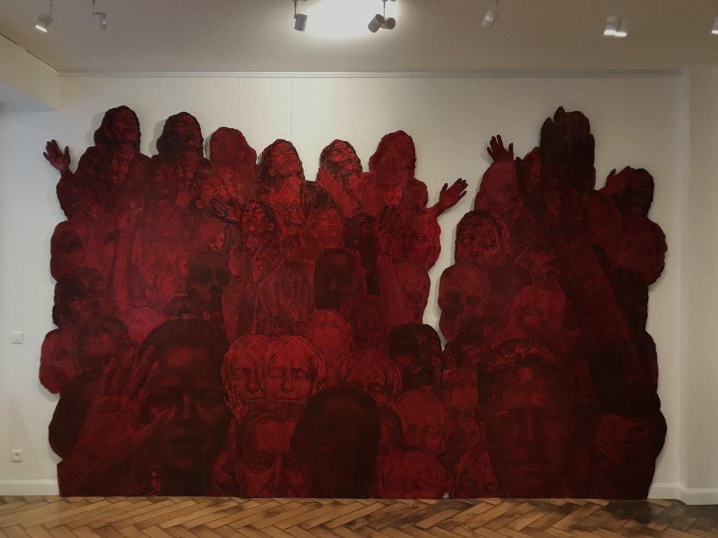 Vue de l'exposition Tijana Kojic, Syllogismes - Galerie Boris (2)