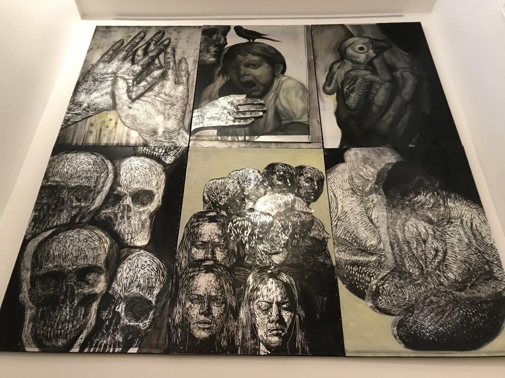 Vue de l'exposition Tijana Kojic, Syllogismes - Galerie Boris (20)