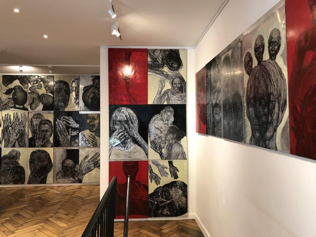 Vue de l'exposition Tijana Kojic, Syllogismes - Galerie Boris (23)