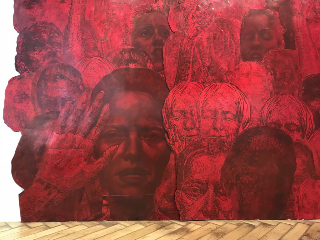 Vue de l'exposition Tijana Kojic, Syllogismes - Galerie Boris (3)