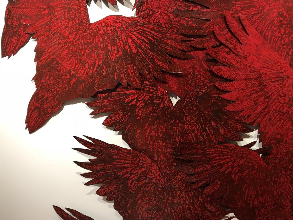Vue de l'exposition Tijana Kojic, Syllogismes - Galerie Boris (38)