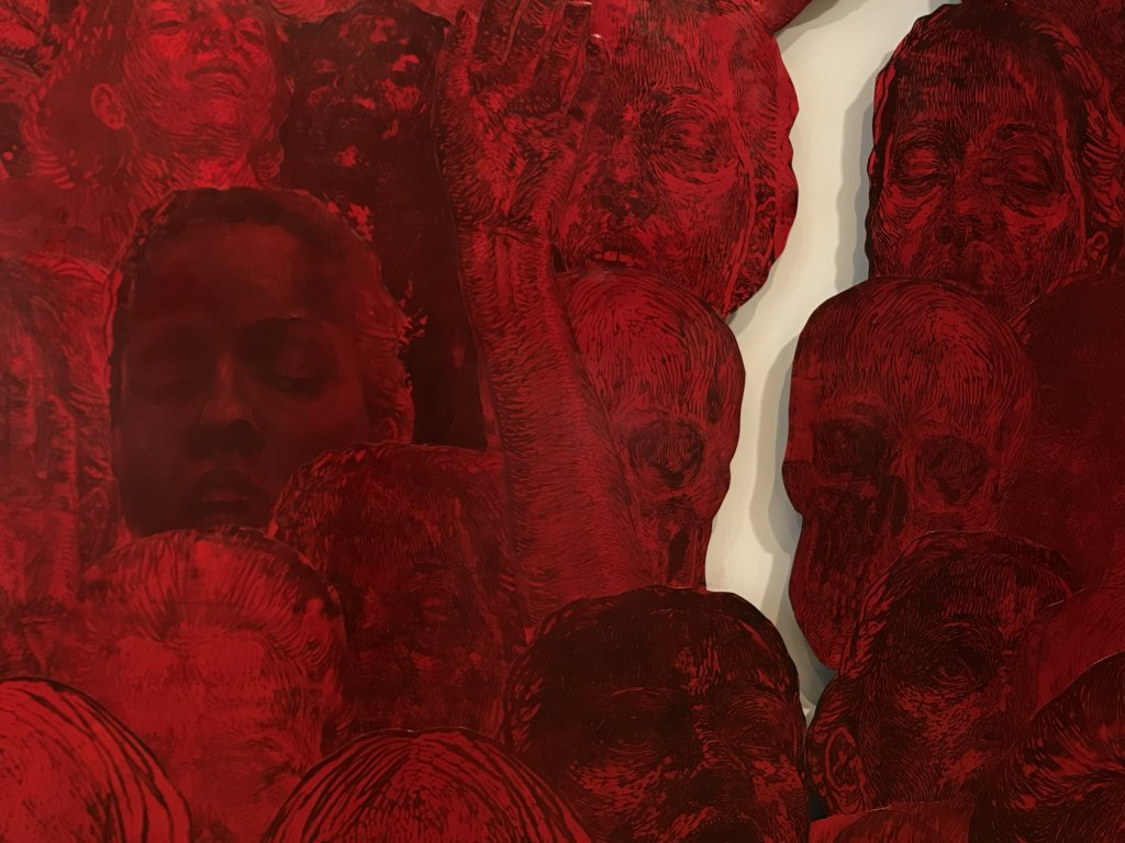 Vue de l'exposition Tijana Kojic, Syllogismes - Galerie Boris (4)