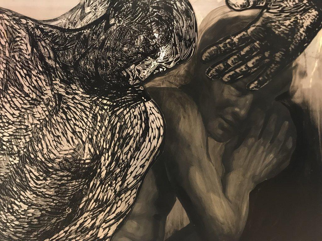 Vue de l'exposition Tijana Kojic, Syllogismes - Galerie Boris (42)