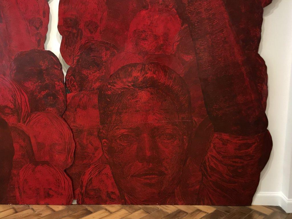 Vue de l'exposition Tijana Kojic, Syllogismes - Galerie Boris (5)