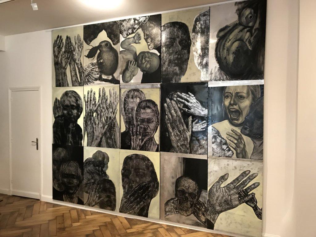 Vue de l'exposition Tijana Kojic, Syllogismes - Galerie Boris (8)