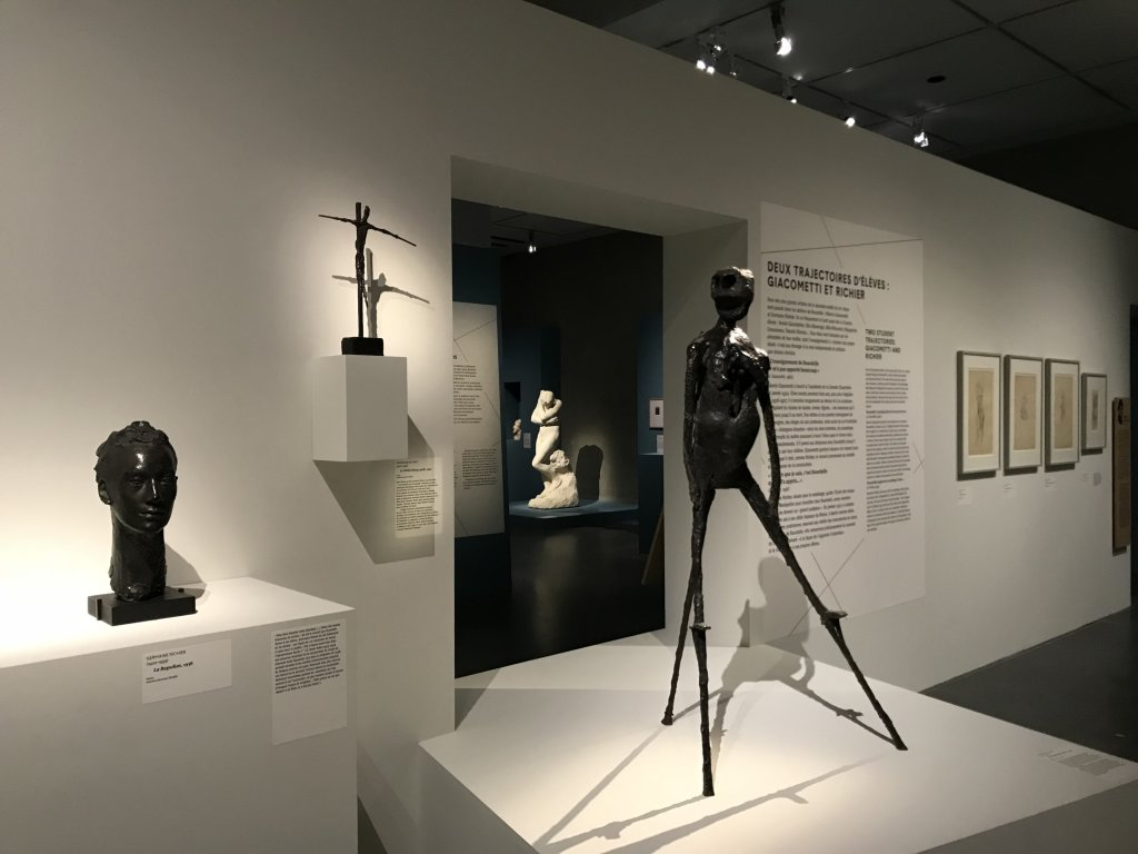 Vue de l'exposition Transmission, Transgression - Musée Bourdelle (15)